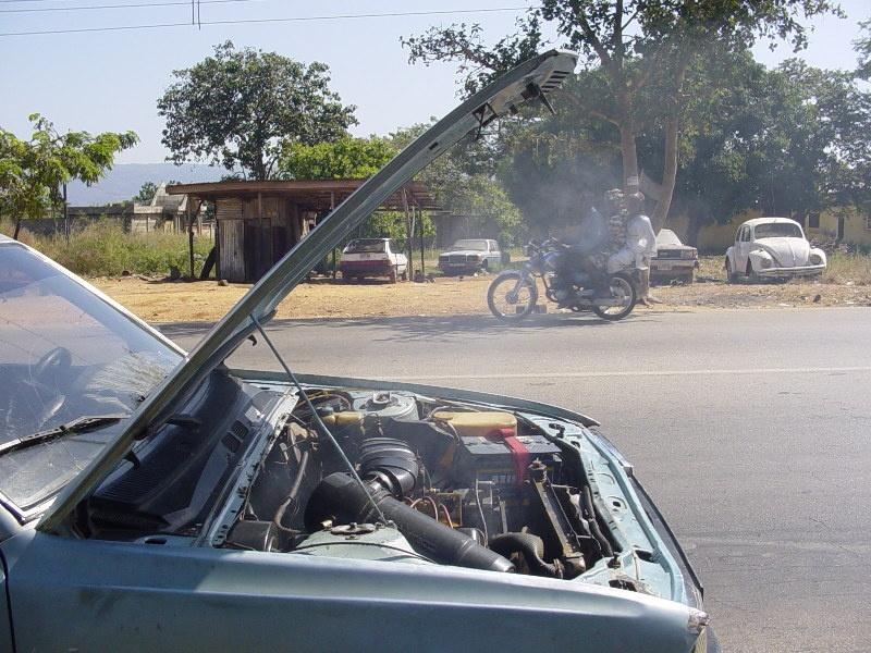 engine failure white smoke autointhebox