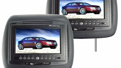 Black screen & white screen issues of car DVD player