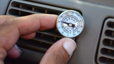 Can I successfully recharge the air conditioner in my car?
