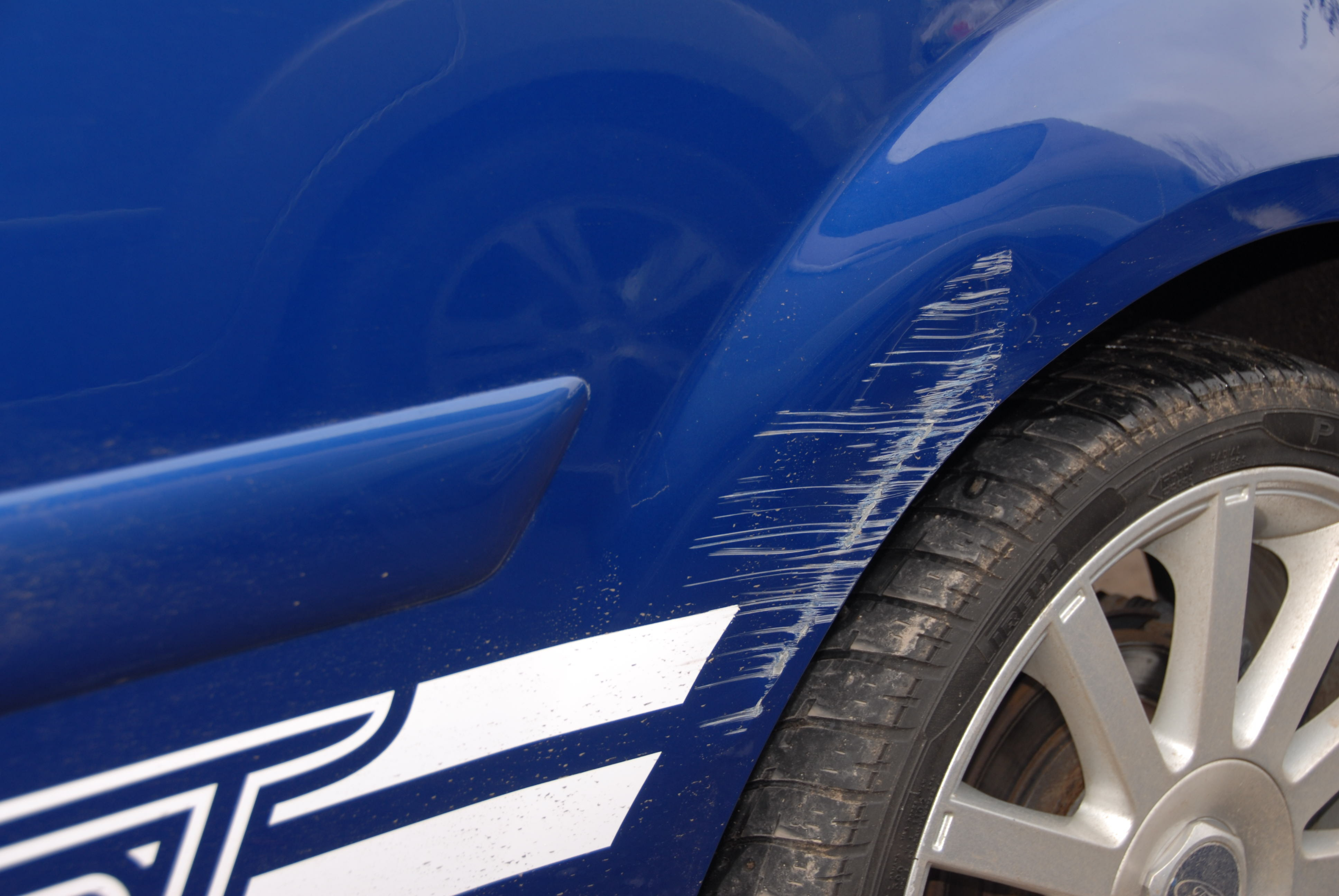 How To Get Rid Of Paint Scrapes On A Car