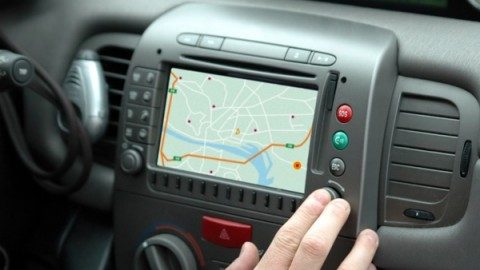 Does GPS enhance or impact car driving safety?