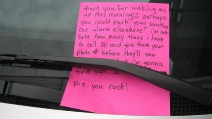 Does Your Car Alarm Annoy You And Your Neighbor