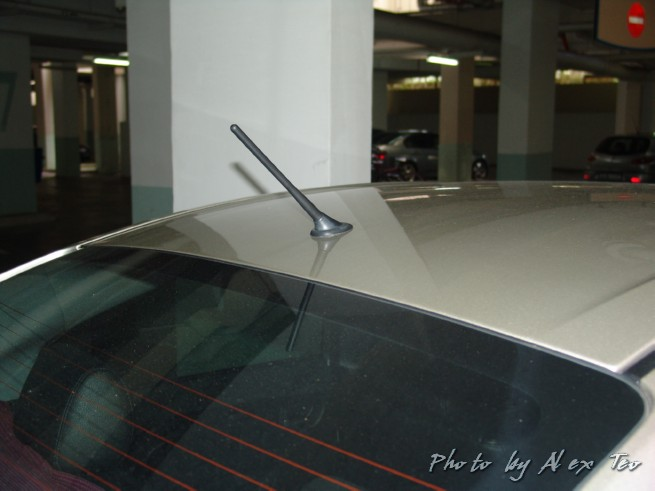 What is best for me if I accidentally break my car antenna