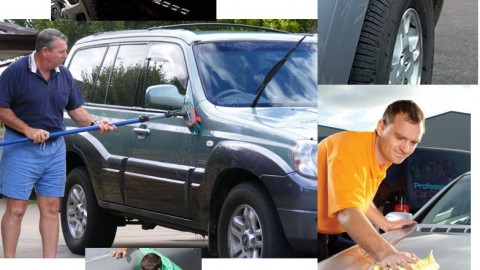 What to do to throughly clean a car