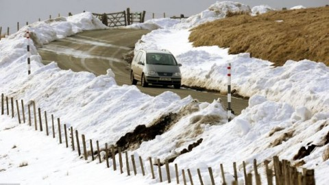 Driving hazards hidden behind the thawing roads