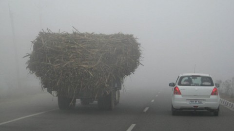 Mind the fog, and mind your driving!