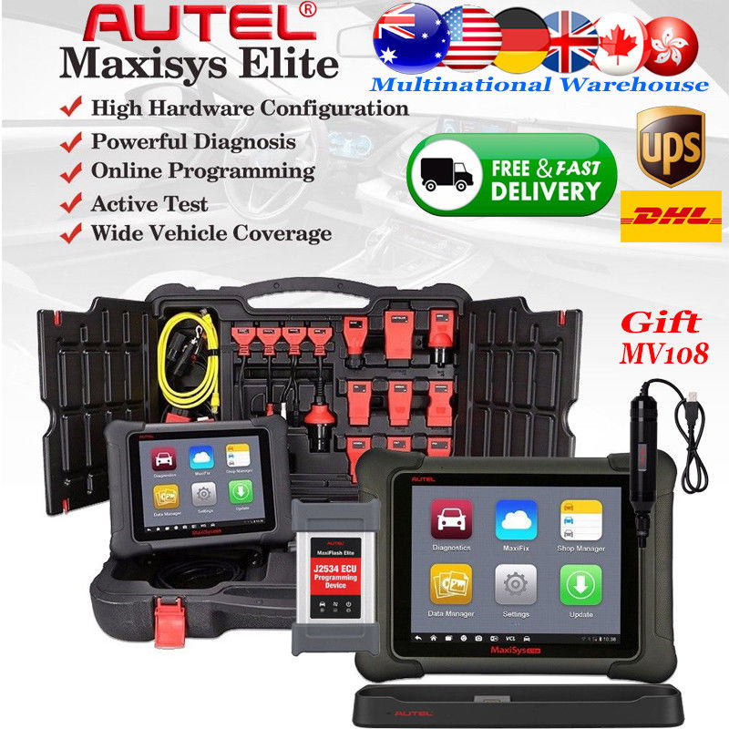 Autel MaxiSys Elite Diagnostic Tool Common problem solving methods